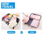 Travel Packing Organizer(6 PCS)-Home & Garden-airvog.com-Red-airvog