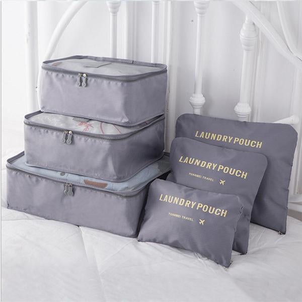 Travel Packing Organizer(6 PCS)-Home & Garden-airvog.com-Grey-airvog