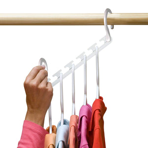 TV shopping magic magic hanger five holes
