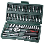 Spanner Socket Car Repair Tool Ratchet Wrench Set - MEDIUM SEA GREEN
