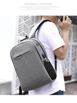 Anti Theft Password Lock USB Charging Laptop Backpack