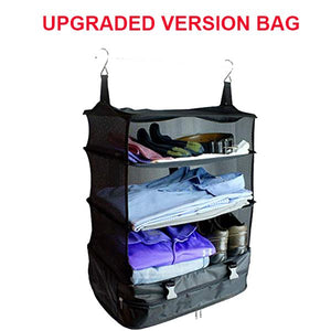 3 Layers Portable Travel Storage Rack Holder-Home & Garden-airvog.com-D: Upgraded Version Bag-airvog