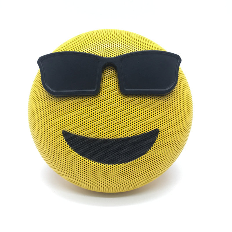Emoji expression bluetooth speaker