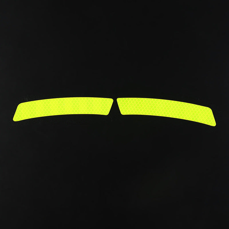 BICYCLE FLUORESCENT STICKER