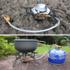 Camping |Xcellent Global Camping Stove Burner, Ultralight Portable and Foldable for Hiking ,Terra Hiker 3500W Camping Gas stove, Backpack Stove, with Convenient Piezo Ignition, Durable & Portable Burner with Carrying Case