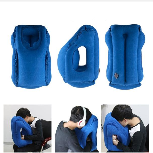 Inflatable Frontal Travel Pillow