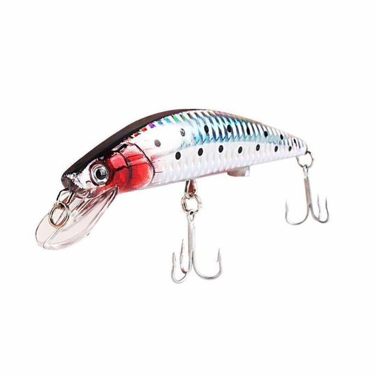 USB Rechargeable Flashing LED Light Twitching Fishing Lures Bait Electric Life-like Vibrate Fishing Lures 1PCS High Quality