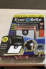 Everbrite Solar LED Outdoor Light Solar Energy Outdoor Easy Stick Up Motion Activated Light As Seen On TV EverBrite
