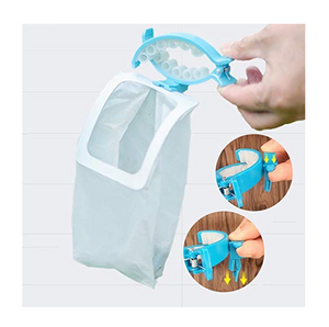 Dog Faeces Container Clip With Portable Waste Bags
