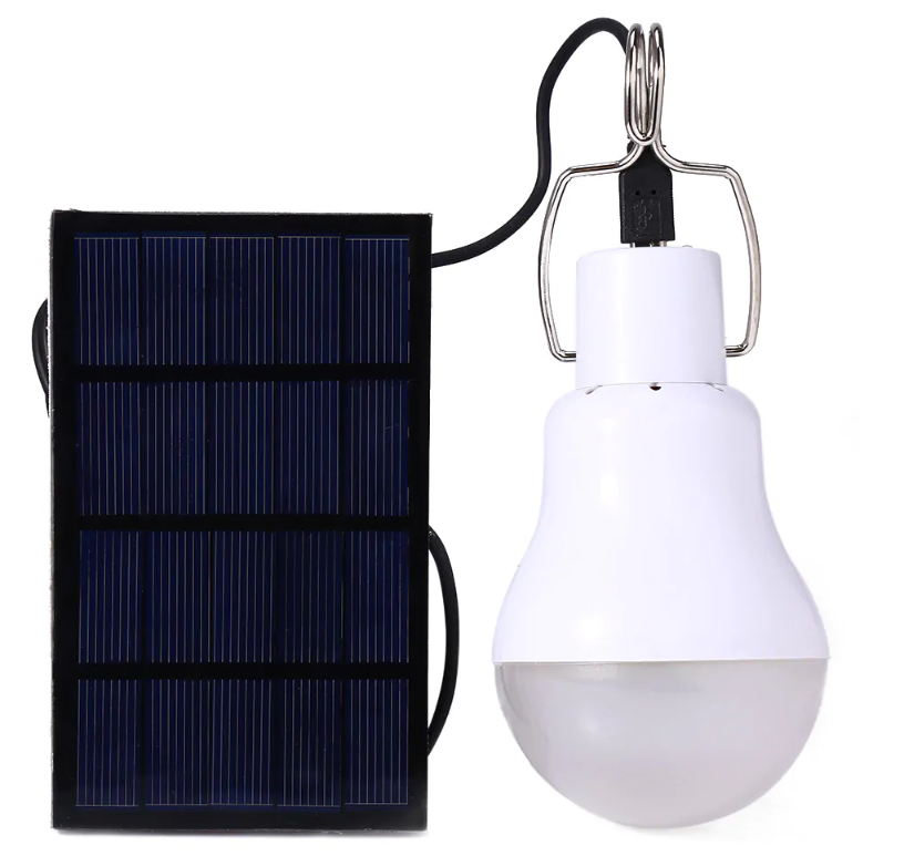 (Now Buy five pieces and pay only for the price of three items)S-1200 130LM Portable Camping LED Light Solar Energy Bulb Lamp - WHITE