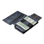 Ekster Parliament Slim Leather Wallet- RFID Blocking- Quick Card Access