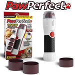 PAWPERFECT Pet Nail Rotating File with 7000-14,000 RPM's for Dogs, Cats, and Other Small Animals