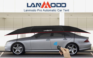 LANMODO Pro Four-season Wireless Automatic Car Tent Cover,Car Umbrella Tent Carport Canopy Beach Tent with Anti-UV,Water-Proof,Proof Wind,Snow,Storm,Hail