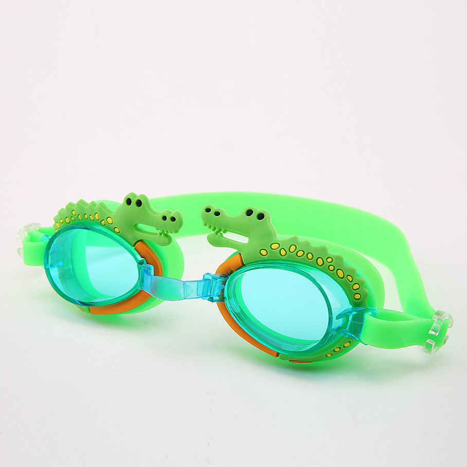 Children's cartoon swimming goggles