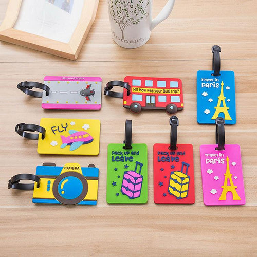 Luggage Tag - Cartoon Travel Tag