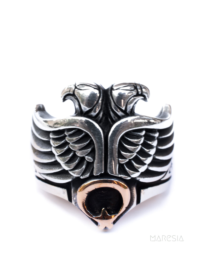 Eagle Men's Ring ~ Sterling Silver 925 ~