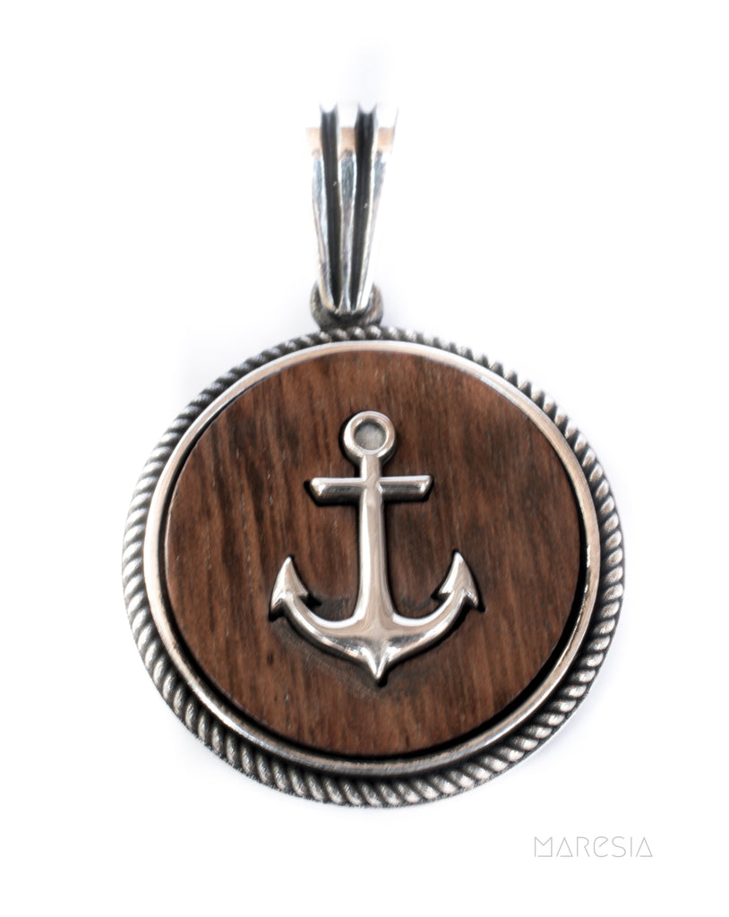 Anchor Men's Pendant ~ Sterling Silver 925 ~