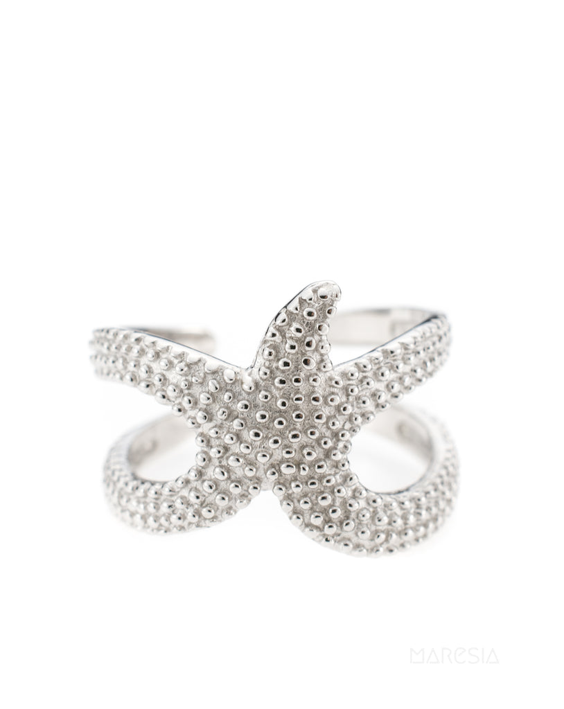 Star Fish Ring~ Sterling Silver 925~ SMR027 - Maresia Jewelry