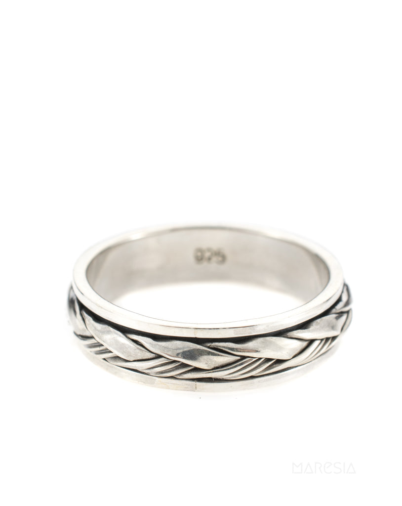 Mary Spinning Ring ~Sterling Silver 925 ~MS - Maresia Jewelry