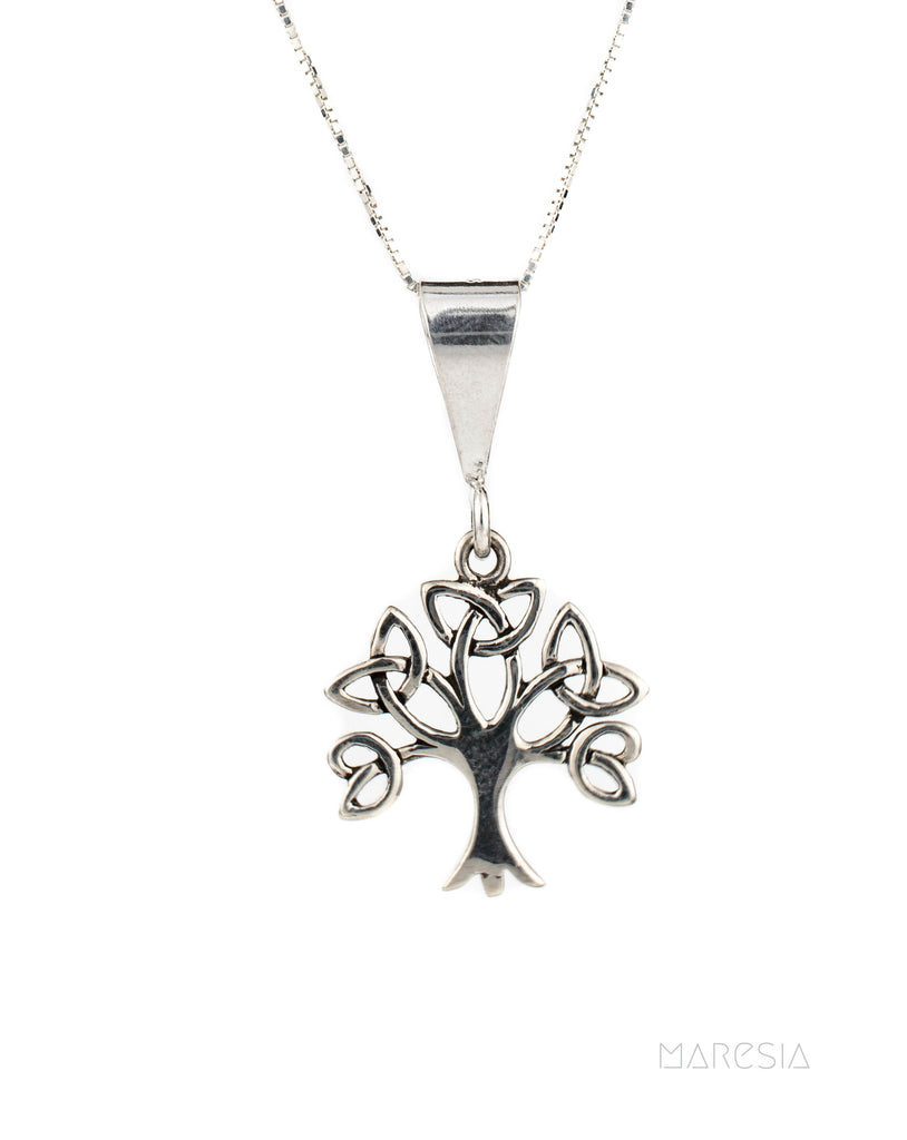 Celtic Tree of Life Pendant ~ Sterling Silver 925 - Maresia Jewelry
