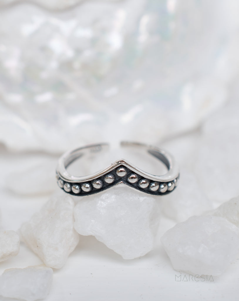 Toe Ring ~ Sterling Silver 925~ SMT002 - Maresia Jewelry