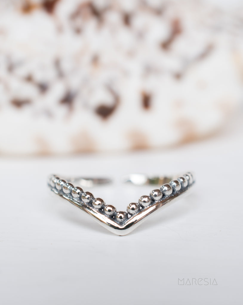 Toe Ring ~ Sterling Silver 925~ SMT004 - Maresia Jewelry