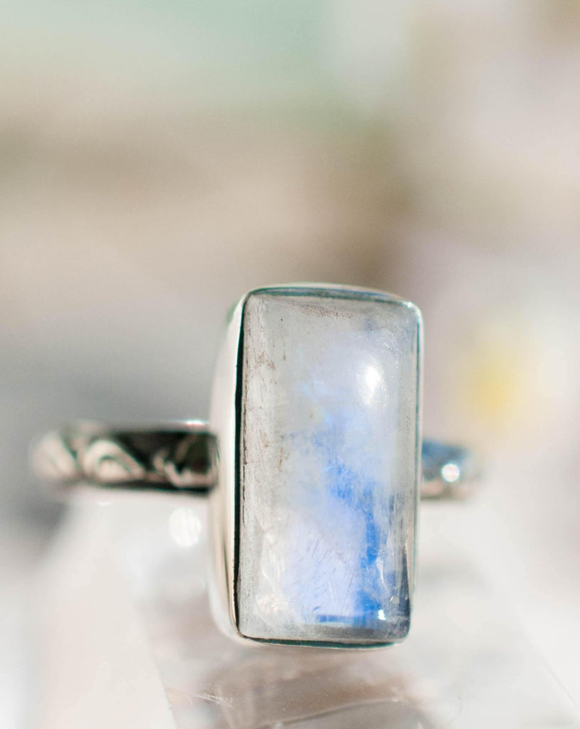 Moonstone ~ Sterling Silver 925 ~MR110 - Maresia Jewelry