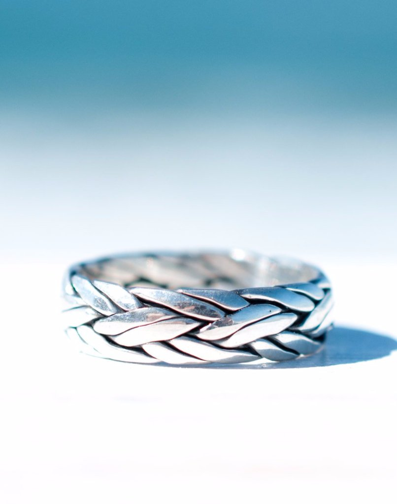 Barra Ring ~ Sterling Silver 925~ - Maresia Jewelry