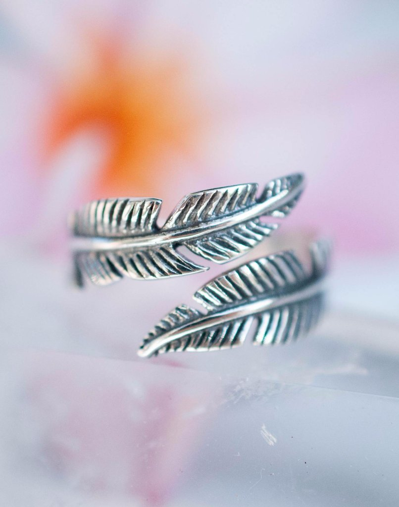 Camburi Leaf Ring ~Sterling Silver 925~ SMR001 - Maresia Jewelry