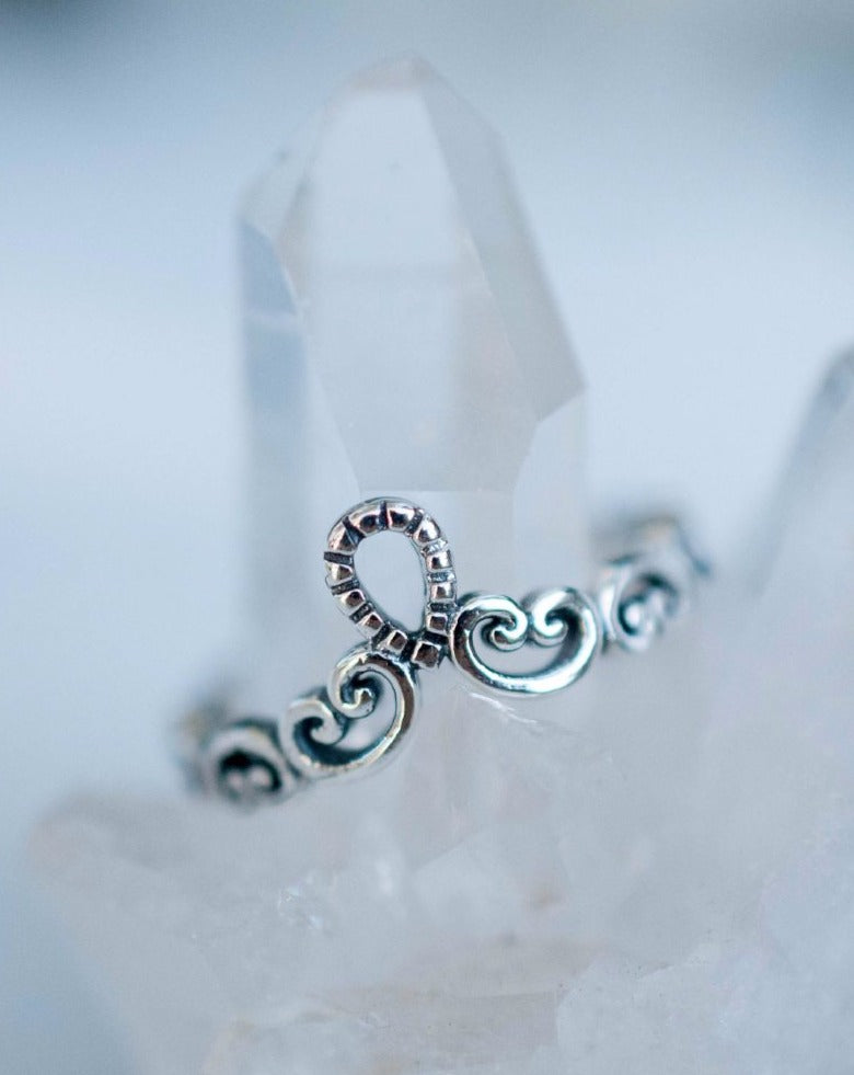 Lace Ring ~ Sterling Silver 925~SMR007