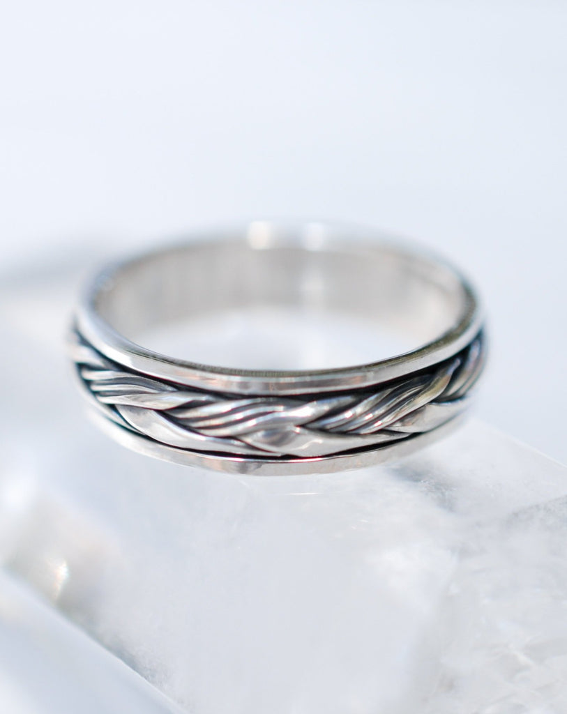 Spinning Ring ~ Sterling Silver 925 ~MS017 - Maresia Jewelry