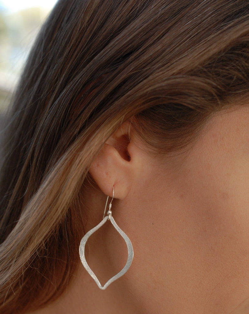 Silver Earring ~ Sterling Silver or Gold Filled  Earwire ~ ME025 - Maresia Jewelry