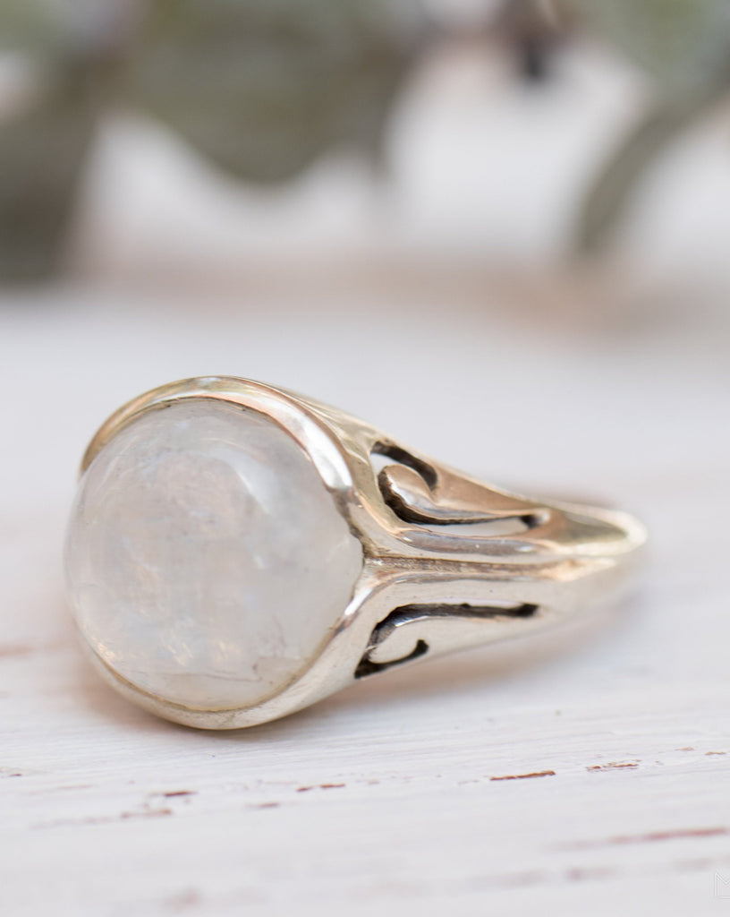 Moonstone ~ Sterling Silver 925 ~ MR120 - Maresia Jewelry