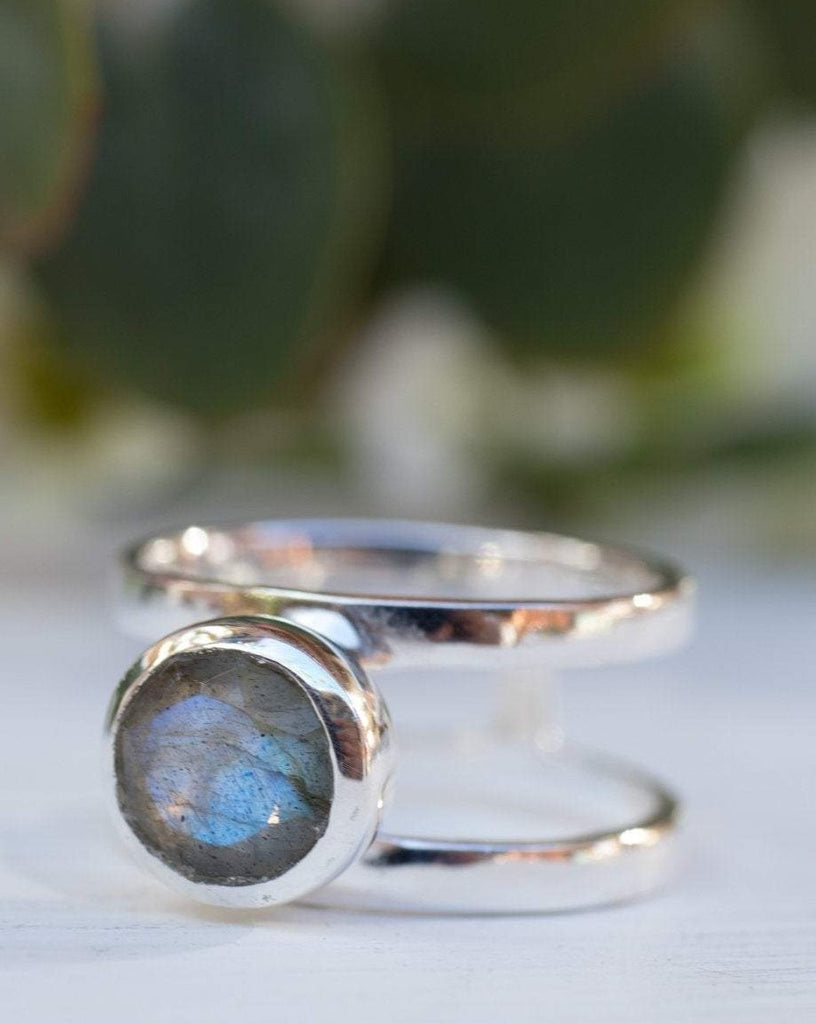 Rainbow Labradorite ~Sterling Silver 925 ~ MR183 - Maresia Jewelry