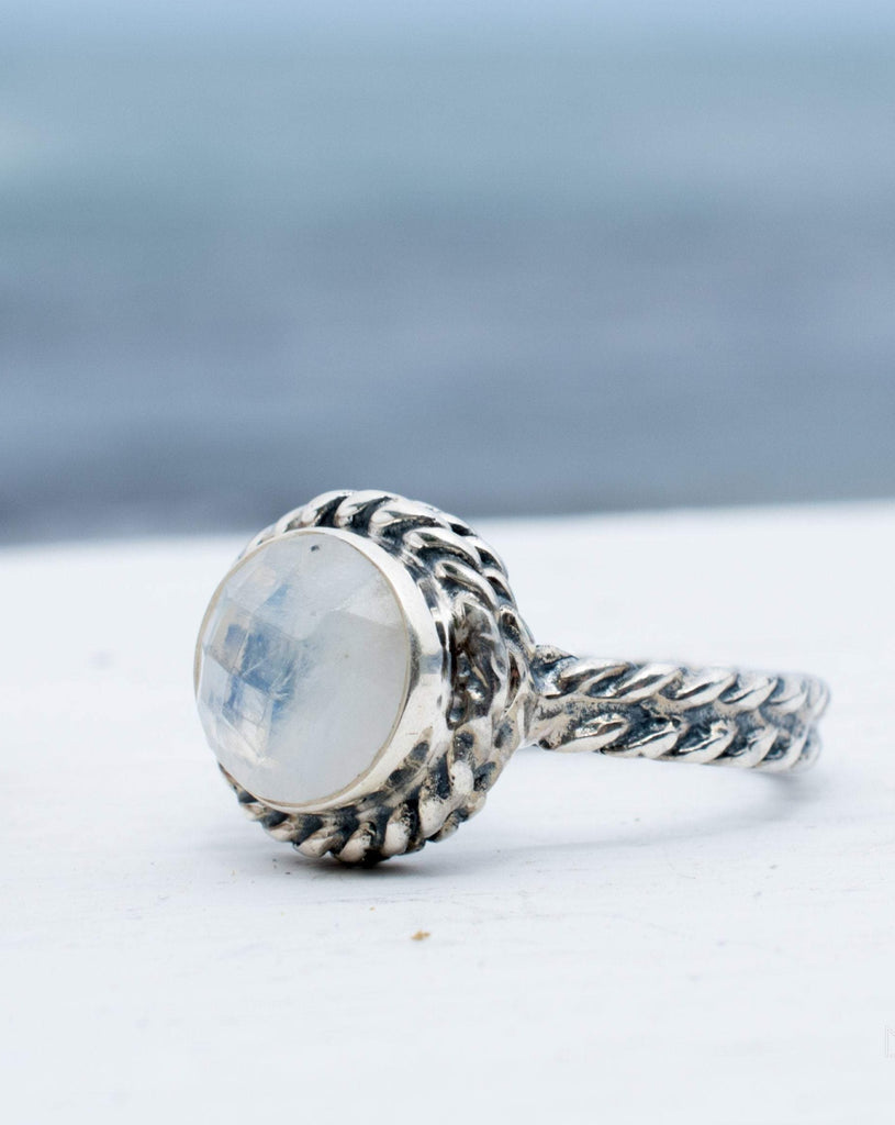 Jericoacoara Moonstone ~ Sterling Silver 925 ~ MR191 - Maresia Jewelry