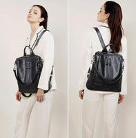Bering Classic Leather Backpack