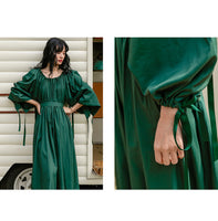 Biak Blouse Maxi Dress