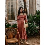 Bioko Off Shoulder Maxi Dress