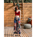 Middle Andaman Bohemian Wide Long Pant