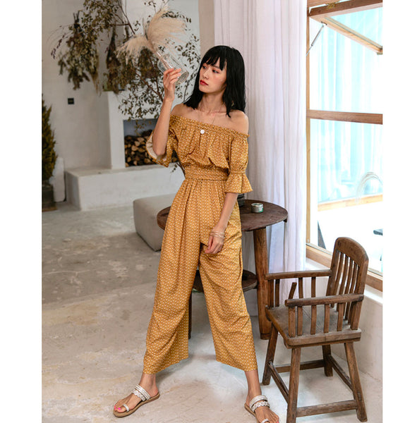 Senja Off Shoulder Jumpsuit