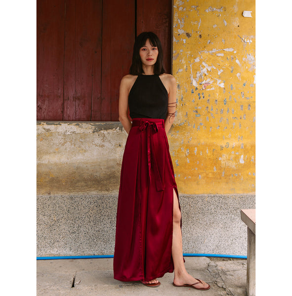 Zemlya Wide Long Pant