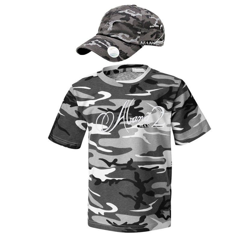 Abana Max II Regular Cut Hat/T-shirt Combo (CLICK TO VIEW OTHER COLORS)