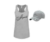 Abana Logo Racer-Back Tank Top & Hat Combo Set (CLICK TO VIEW OTHER COLORS)