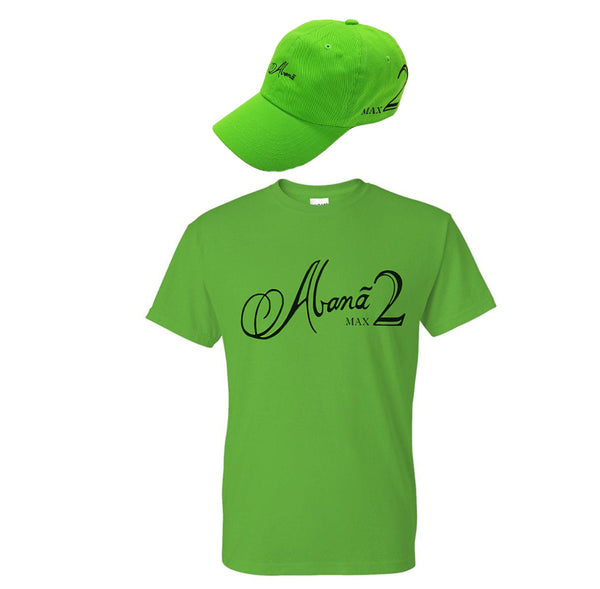 Abana Max II Regular Cut T-Shirt/Hat Combo (CLICK TO VIEW OTHER COLORS)