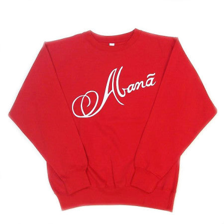 Abana Sweatshirt (CLICK TO VIEW OTHER COLORS)