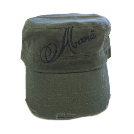 Abana Military Cap (CLICK TO VIEW OTHER COLORS)