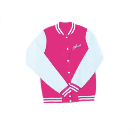 Abana Women Logo Lightweight Varsity Jacket (CLICK TO VIEW OTHER COLORS)