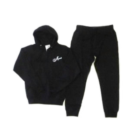 Abana Zippered Hoodie Jogger Set (CLICK TO VIEW OTHER COLORS)