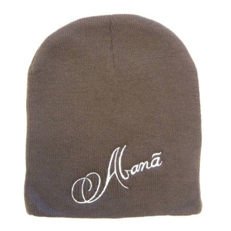 Abana Knit Beanie (CLICK TO VIEW OTHER COLORS)
