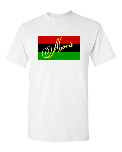 Abana Men Lion & Flag Multi- Color T-Shirts (CLICK TO VIEW OTHER COLORS)